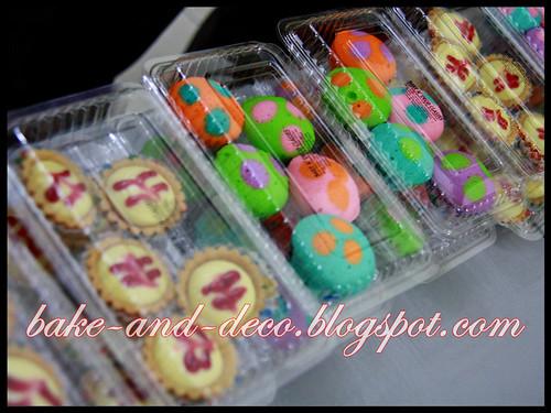 Baking Class: Apam Polkadot & Blueberry Cheese Tart ~ 17 June 2012