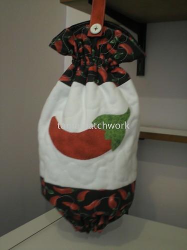 Puxa saco pimentas..... by tania patchwork