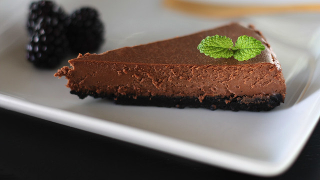 chocolate cheesecake for chocolate lovers (^^)