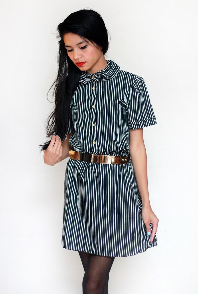 vintage striped dress by Tarte Vintage at shoptarte.com