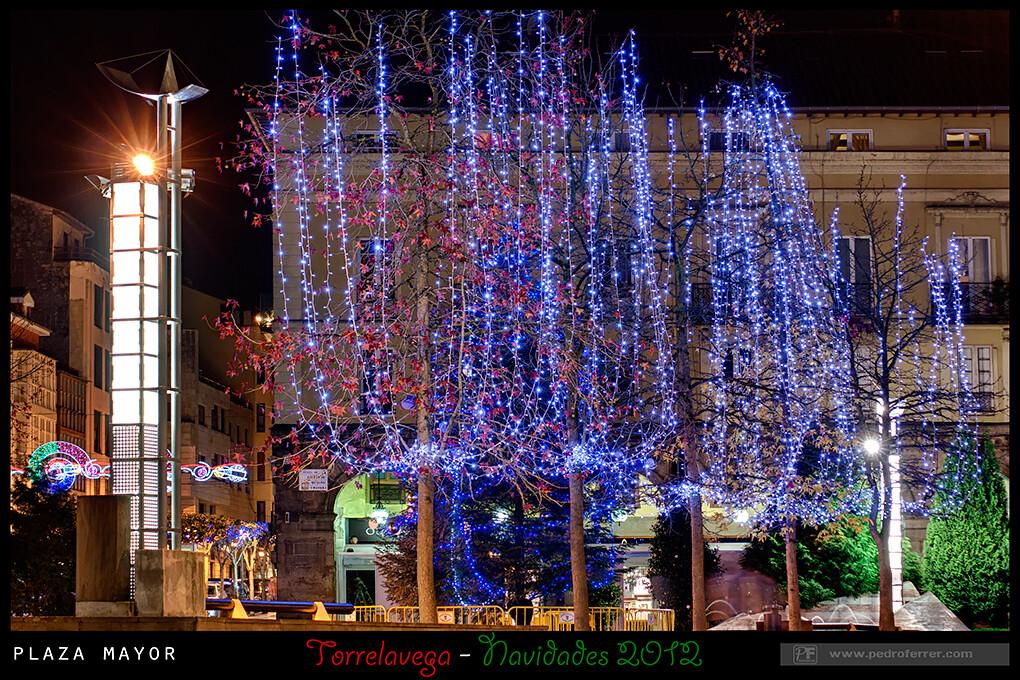 Navidades Torrelavega 2012 - Plaza Mayor