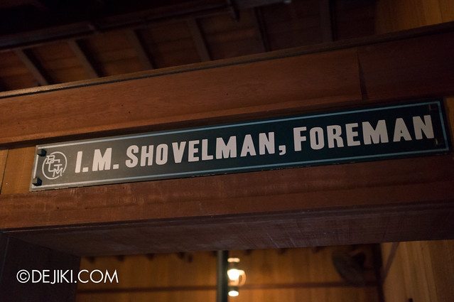 I.M. Shovelman, Foreman
