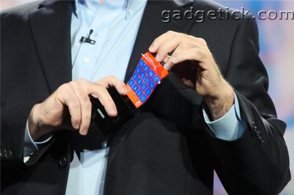 технология гибких дисплеев Samsung Youm