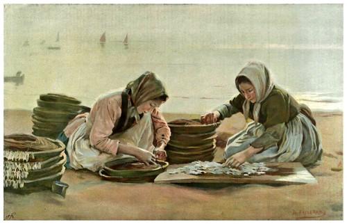003-Preparando el cebo-Dionisio Bairenas- 1899 nº 33Revista Album Salon - Hemeroteca digital de la Biblioteca Nacional de España
