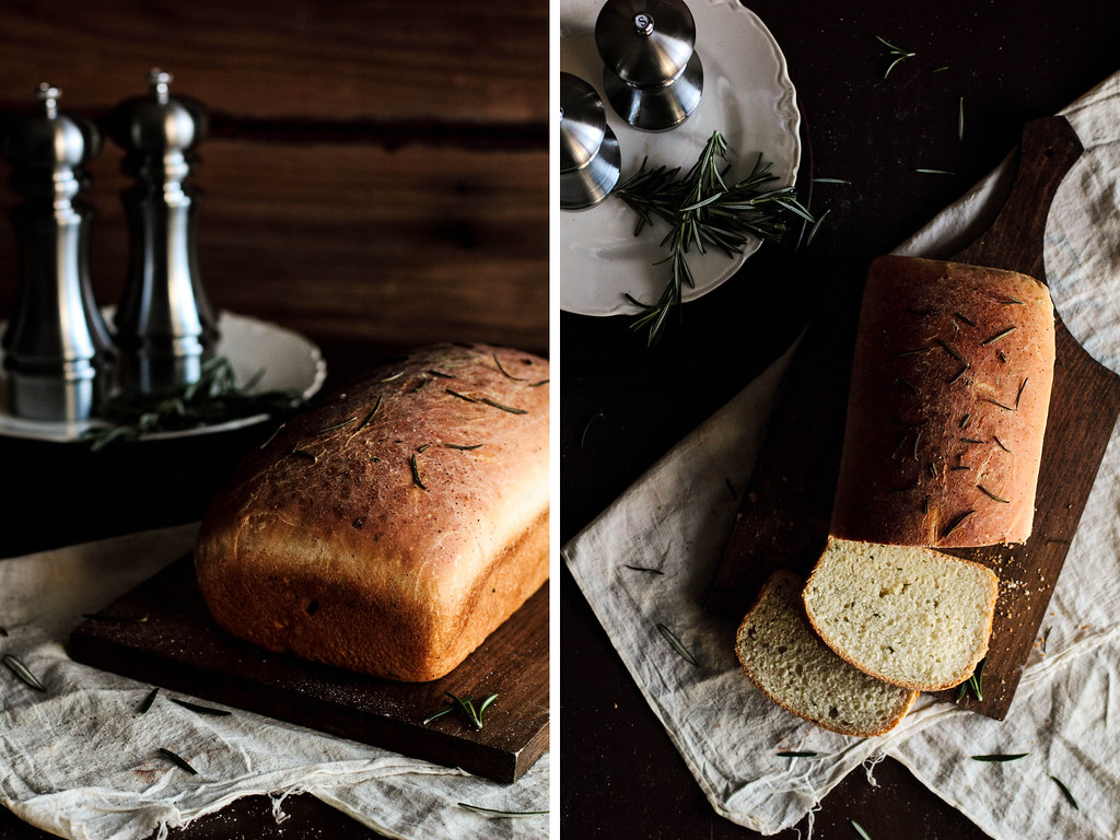 Rosemary Sandwich Bread