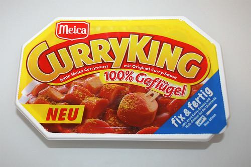 01 - Meica Curry King Geflügel - Packung vorne