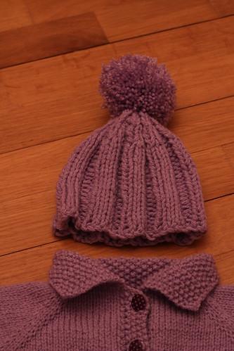 Bonnet de Noël pour Juliette