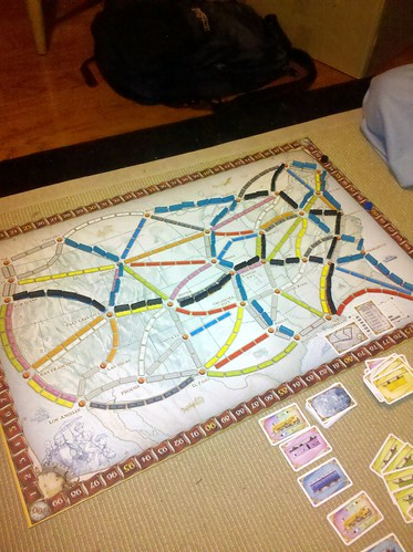 About to in Ticket to Ride for the 1st Time