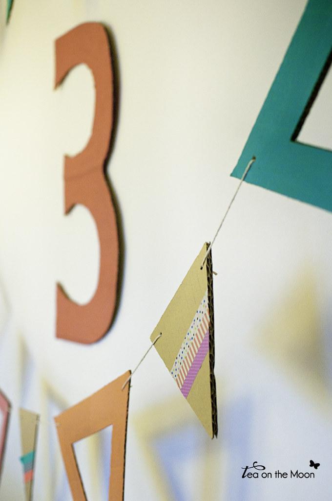 Guirnalda de cartón cumpleaños original birthday garland 08