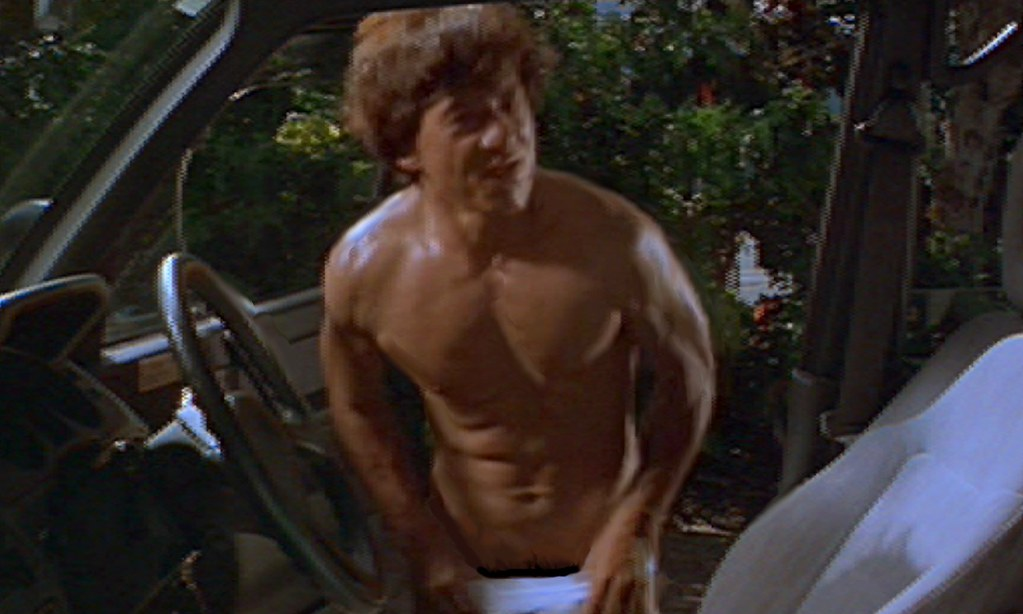 gets naked - ''Jackie Chan's first Strike'' 1996