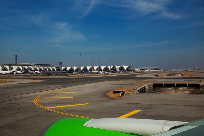 Бангкок, Аэропорт Суварнакхуми, Торговые центры Бангкока,