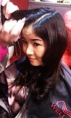 Kiểu tóc dài uốn xoăn Retro đi dự tiệc Hair salon Korigami 0915804875 (www.korigami (6)