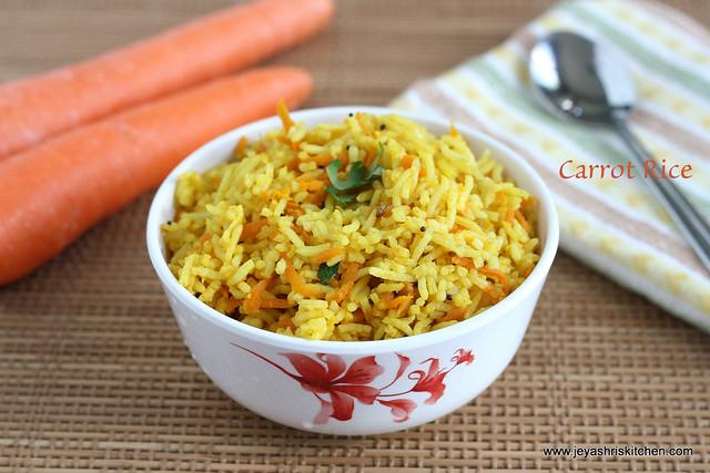 Carrot rice 3