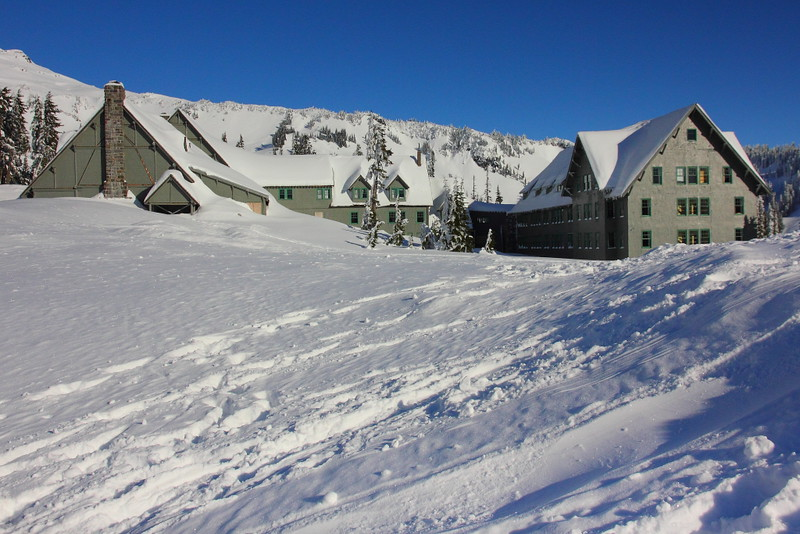 IMG_0137 Paradise Inn in Winter, Mount Rainier National Park
