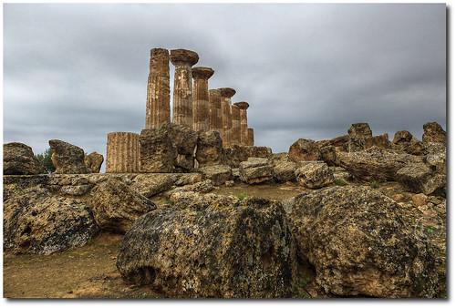 Templo de Heracles, Agrigento by nemomemini
