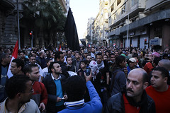 March in Talaat Harb going to Tahrir