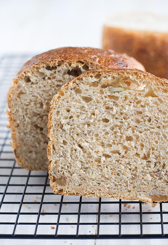 Receta de pan de molde con espelta integral y masa madre natural