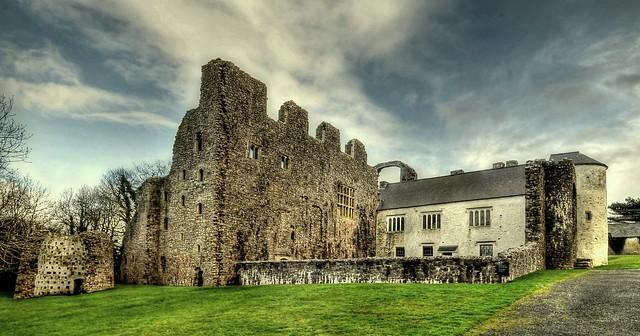 Oxwich Castle ... South Wales
