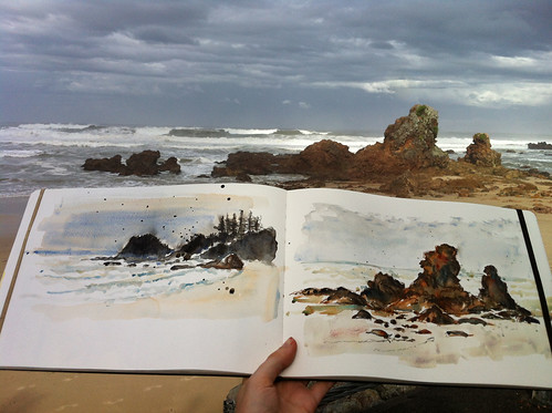 After the storm_Sketching