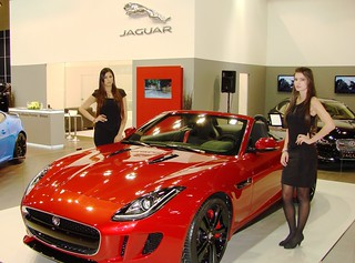 Middle East Debut of the Jaguar F-TYPE at Qatar Motor Show 2013