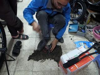 ペダル修理