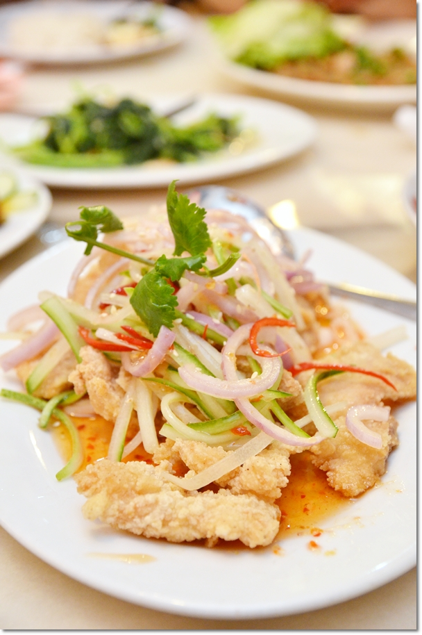 Thai Chili Sauce Crispy Fish Fillet