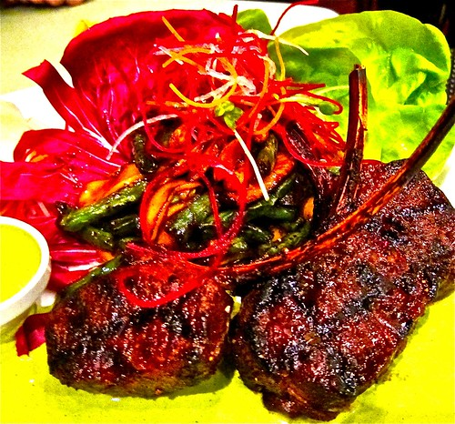 grilled lam chops