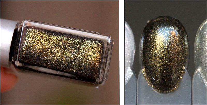 2052 Golden black swatch