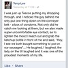The best Facebook status I've seen...