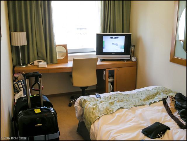 Shinjuku-- My Hotel Room