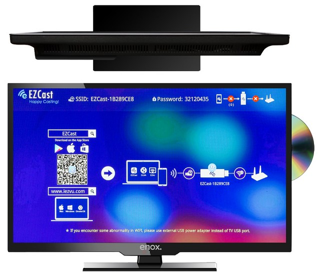 enox ll 0119st2 fernseher tv led 19 zoll 47cm full. Black Bedroom Furniture Sets. Home Design Ideas