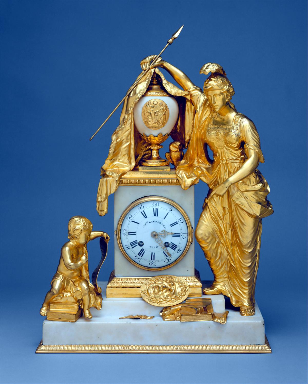 1770. Clock case, Matthew Boulton. Credit metmuseum.org