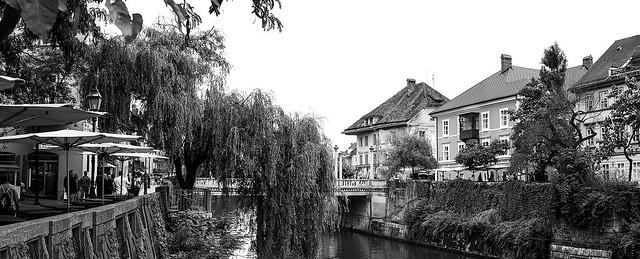 Ljubljana cityscape #1