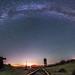 Vía Láctea Over Dos Cabezas by slworking2