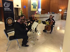 Members of Ulster Orchestra at Europa Hotel, Belfast #ulsterorchestra50