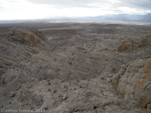 View from Truckhaven Rocks, Anza Borrego Desert State Park, California