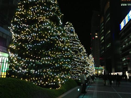 イルミネーション@新宿サザンテラス
