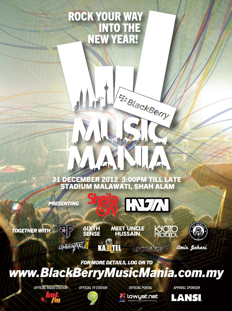 BlackBerry Music Mania Concert 2012