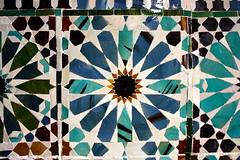 Tilework, Chapel of San Bartolomé, Córdoba, Spain