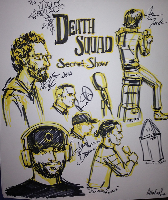 DEATHSQUAD SECRET SHOW #1