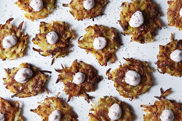 potato carrot cakes
