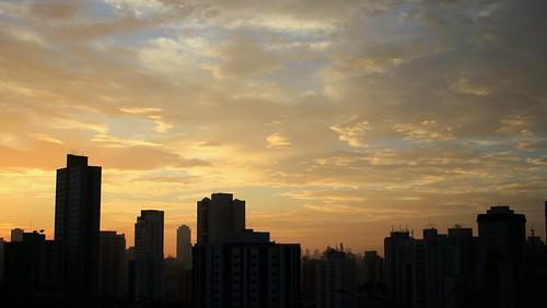 sunrise cloudy céu nuvens amanhecer