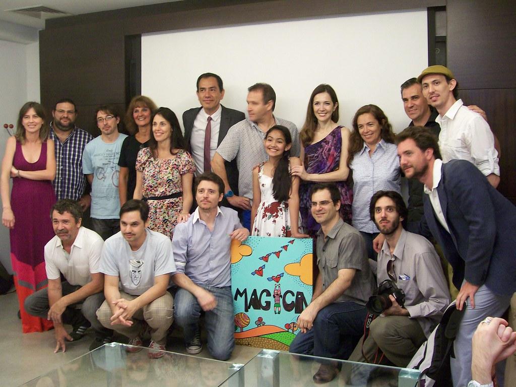"""Première del corto """"Mágica"""" auspiciado por Incucai y Fundación Barceló (2012)"""