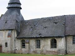 Dreuil-Hamel (église) fenêtres sud