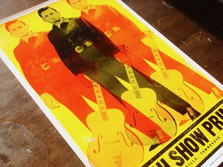 Johnny Cash letterpress poster