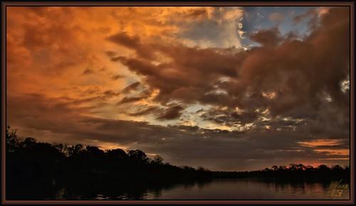 park sky reflection nature clouds sunrise texas atmosphere bayou pasadena canoeing paddling redclouds bayareapark a700 armandbayou sonya700 wanam3