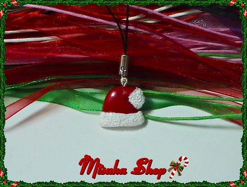 Colgante Movil Gorro Santa Claus