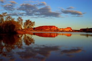 Rainbow Valley Reflection