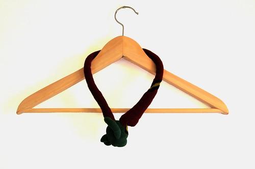 Crochet necklace - Organic Shape