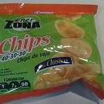 Chips de soja
